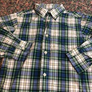 3/$21 EUC plaid dress shirt